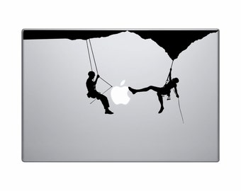 Climbers MacBook Decal, Climbers MacBook Sticker,Laptop Decal, Laptop Stickers, MacBook Stickers Climbers
