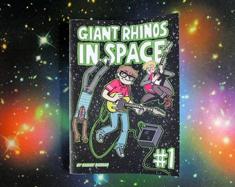 Giant Rhinos In Space #1