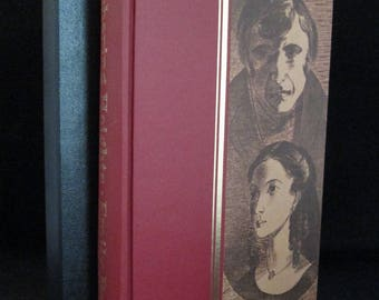 Wuthering Heights by Emily Bronte Gothic Illustrated Heritage Press Classics Vintage Book