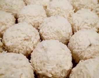 Coconut melt away truffle