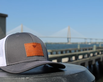 Sweetgrass Co. gray and white SnapBack