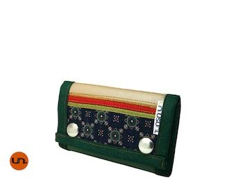 Mini, Handmade Personalized Wallet, Vegan Friendly, Vegan Leather Wallet, Small Leather Wallet, Mens Wallet, Womens Wallet, Trifold, UNUSUAL