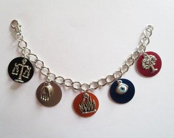 CLEARANCE Faction Charm Bracelet