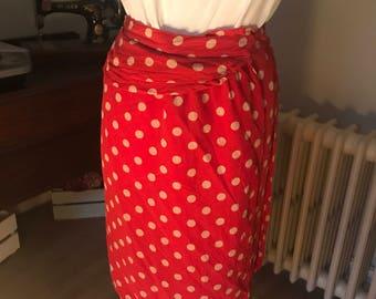 Handmade sarong skirt