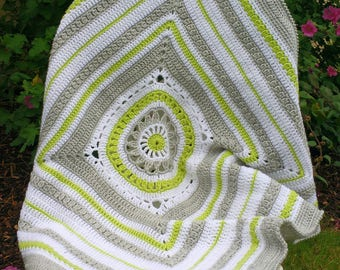 CROCHET PATTERN - Crochet Blanket Pattern, Baby Blanket, Baby afghan