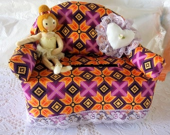 Sofa tissue box cover