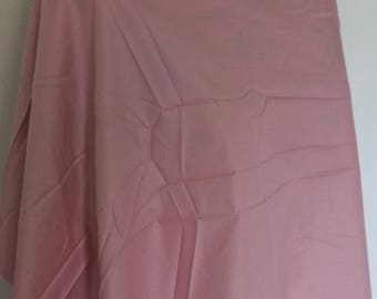 Pink Cotton satin finish on one side