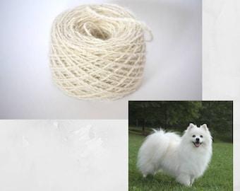 Chiengora Spinning Service - Yarn from your dog fur, cat fur, rabbit fur, ferret fur
