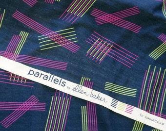 Free Shipping in AU! Ellen Baker Parallels for Kokka Double Gauze Fabric