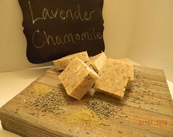 Lavender Chamomile Goat Milk Soap