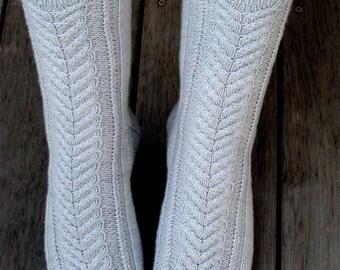 PDF Knitting Pattern - Heathrow Socks