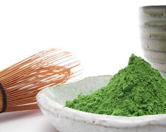 Pure starter MATCHA green tea powder 100% natural. FREE SHIPPING!