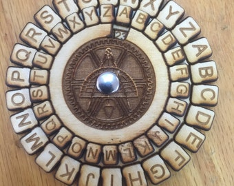 Wooden Multi-layered Secret Decoder - Free Shipping