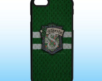 Harry Potter Slytherin Custom Iphone Case, Iphone 5, 6, 7, 8, X