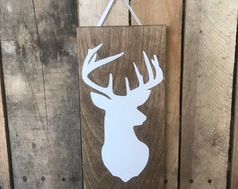 Deer Silouette Wall Decor