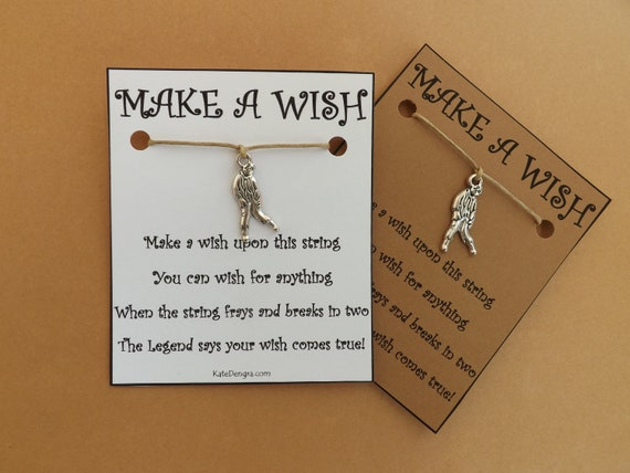 Zombie Walking Dead Z Themed Wish Bracelet