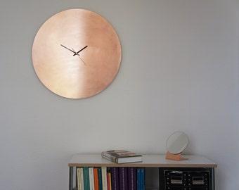 Copper Raw Grande - Wall Clock