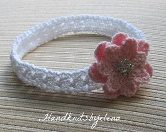 Instant Download #198 Knitting Pattern Headband Marisha