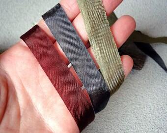"Rayon seam bias tape, 1/2"" wide by 5 yards, seam binding, A-003"