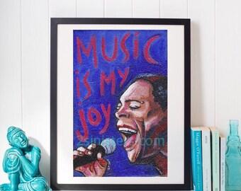 Sharon Jones print