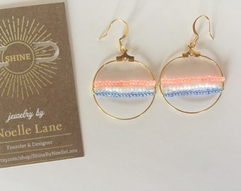Signature Spring - Gold Hoops