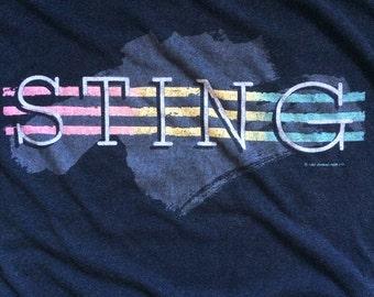 Original Sting 1985 tour t shirt