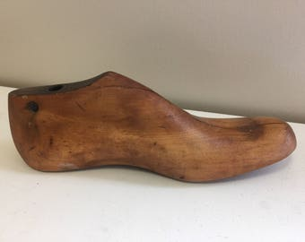 Vintage/Antique Wooden Shoe Last