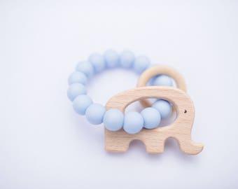Blue ele rattle