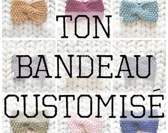 YOUR CUSTOM HEADBAND