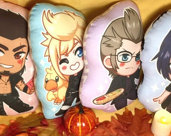 ALL FOUR FFXV Inspired Character Pillow