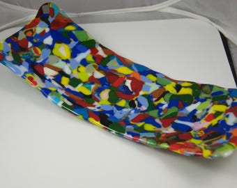 Crazy Quilt serving dish