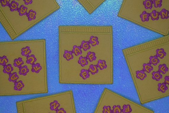 Bags of Fun Iron on Patch