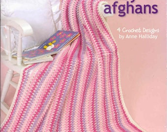 Easy Breezy Baby Afghans ~ Crochet Book  ~  Leisure Arts ~ NEW