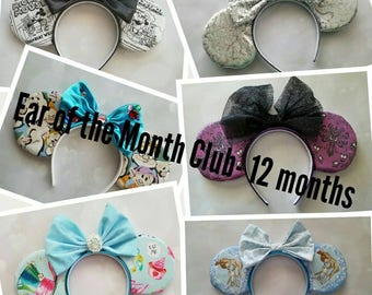 Ear of the Month Club- 12 month subscription