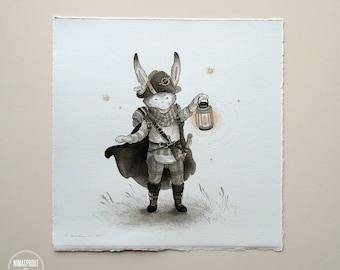 Rabbit Rogue - Original Painting