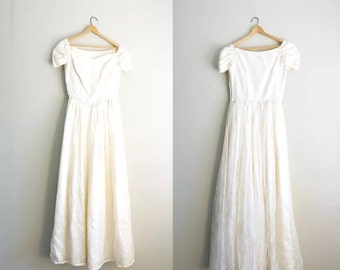 Vintage Wedding Dress | 50s Wedding Dress | Vintage Bridal Gown | Lace Wedding Dress