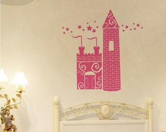 Princess Castle - Vinyl Wall Decal
