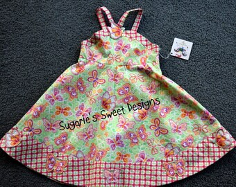 Girls Butterfly Sundress