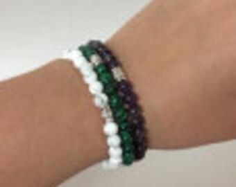 Gemstone Bracelets (6mm)