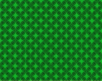 85073  -  Michael Miller - Tiny Tiles in emerald  color - 1/2 yard