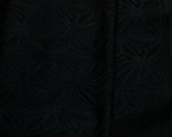 Vintage Japanese Silk Kimono Fabric Abstact Diamond