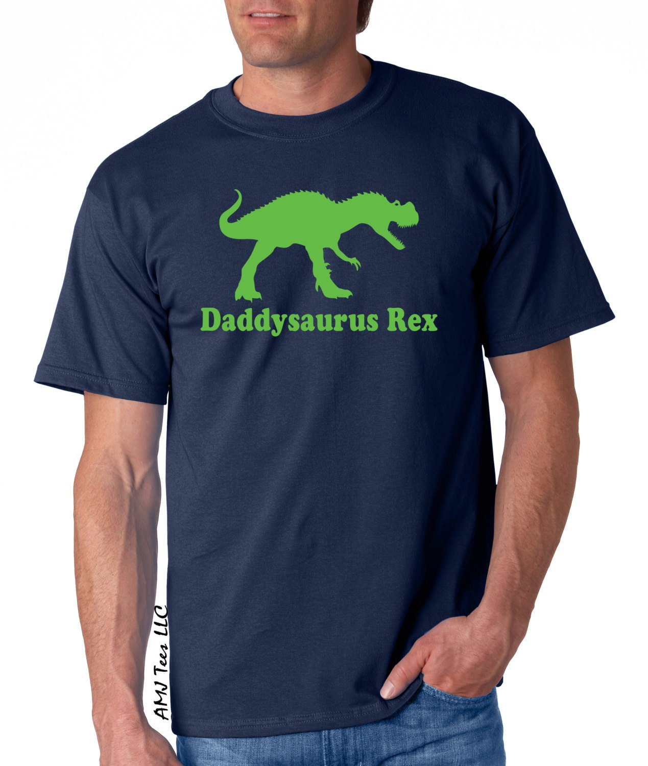 Daddysaurus shirt, mens dinosaur shirt, Fathers day gift, trex shirt, gifts for dad, dinosaur birthday, fathers day, new daddy gift