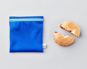 Custom trio ~ large reusable sandwich bags ~ Reusable snack and sandwich zipper bags