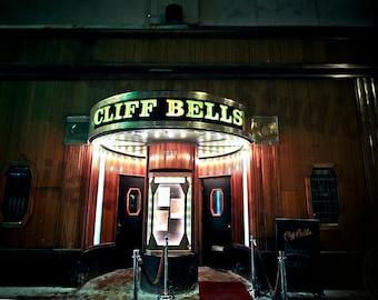 Cliff Bells Detroit Fine Art Photograph on Metallic Paper
