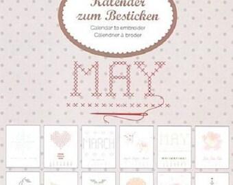 Embroidery Kit: perpetual calendar brand Rico