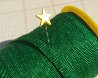 """GREEN Twill Tape Trim - Sewing Bunting Shipping Packaging - 3/8"""" Wide - 10 Yards"""