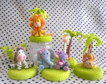 Animals jungle beatiful/polymer clay/variation in beatiful animals.