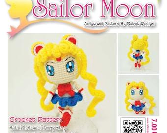 PDF Pattern - Amigurumi Sailor Moon