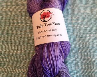 Hand Dyed Sock Yarn-Hyacinth