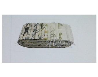 Bali Poppy- Waterfall 20~ 2.5 X44-Inch Cotton Fabric Strips Bpp-449 By Hoffman Of Ca.
